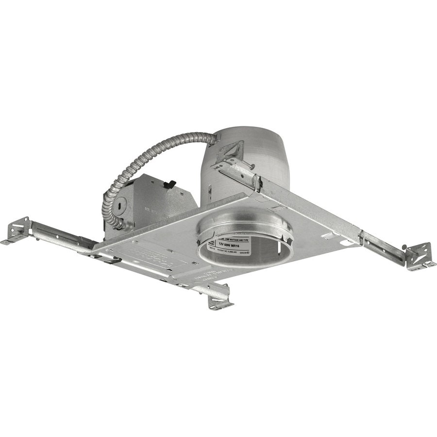 Progress Lighting New Construction Non-IC Recessed Light Housing (Common: 4-in; Actual: 4-in)