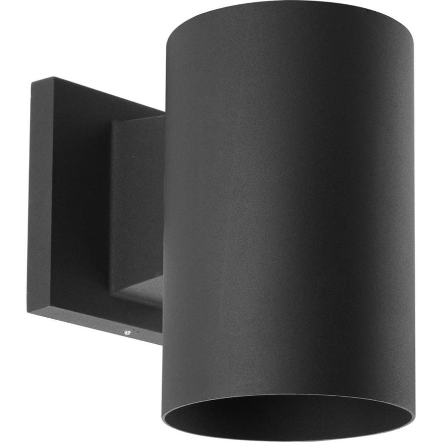 Progress Lighting 7.25-in H Black Dark Sky Outdoor Wall Light