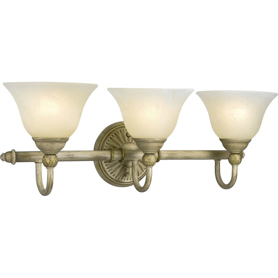 Progress Lighting Savannah 3-Light Seabrook Bell Vanity Light