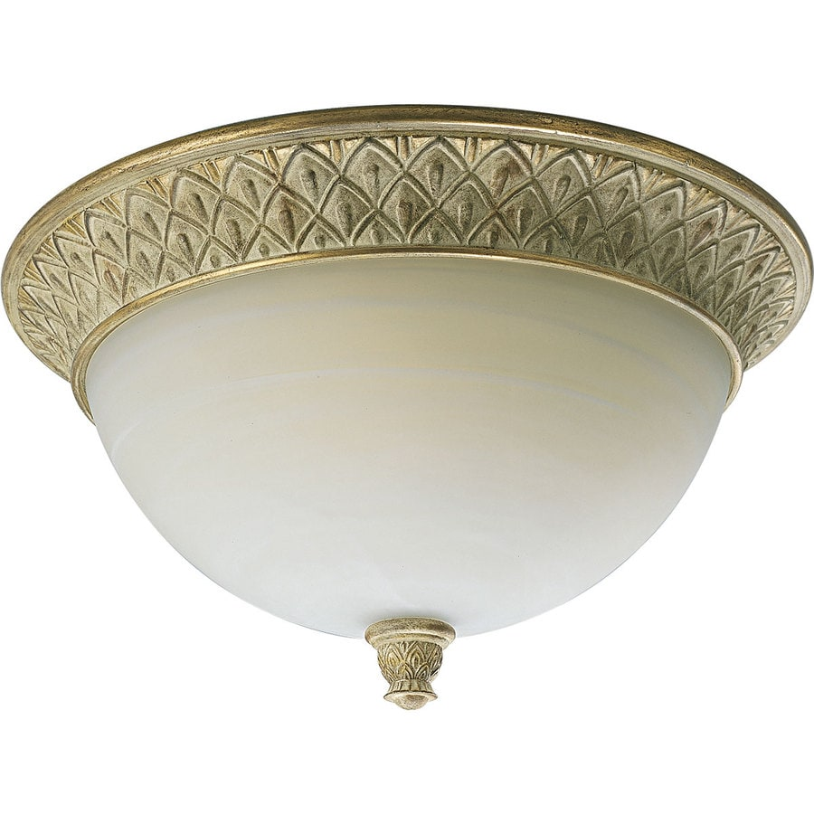 Progress Lighting Savannah 17-in W Seabrook Standard Flush Mount Light