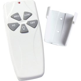 Exceptional Progress Lighting Handheld Ceiling Fan Remote With 25 Ft Range