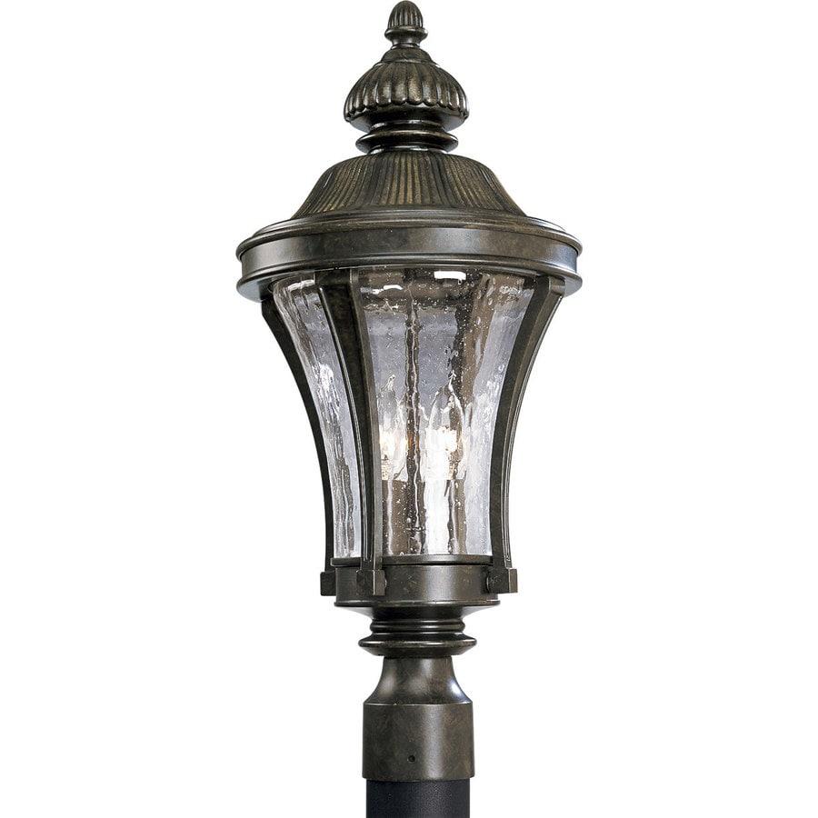 Progress Lighting Nottington 22.5-in H Forged Bronze Post Light