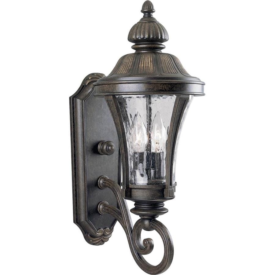 Progress Lighting Nottington 19.62-in H Forged Bronze Outdoor Wall Light