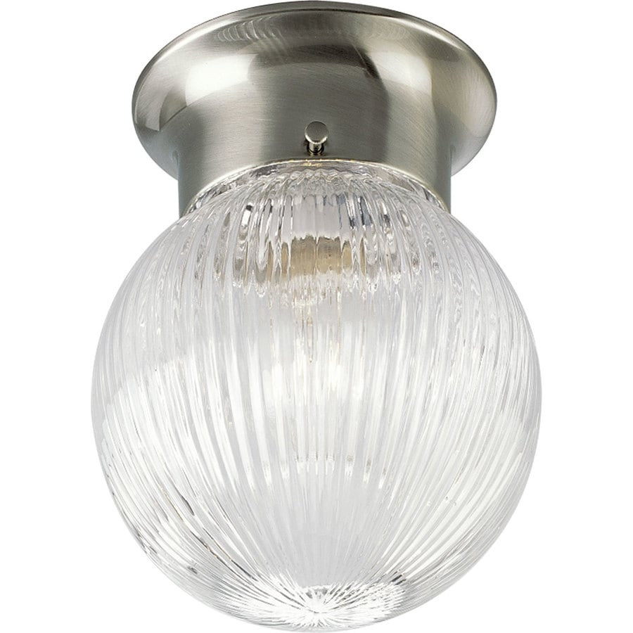 Shop Progress Lighting Glass Globes 6.38-in W Brushed