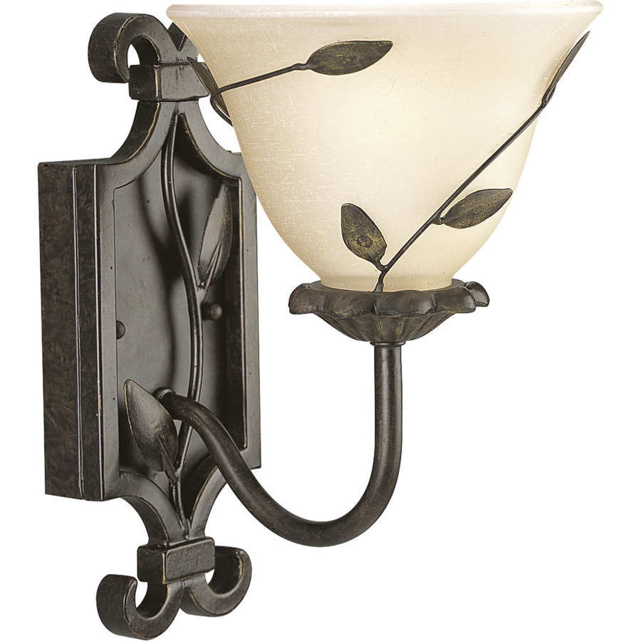 Progress Lighting Eden Forged Bronze Bathroom Vanity Light