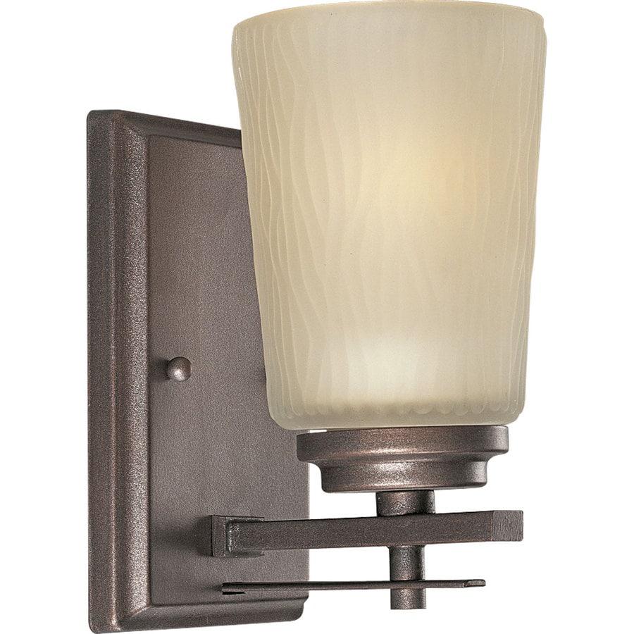 Progress Lighting Riverside 1-Light 8-in Heirloom Cylinder Vanity Light