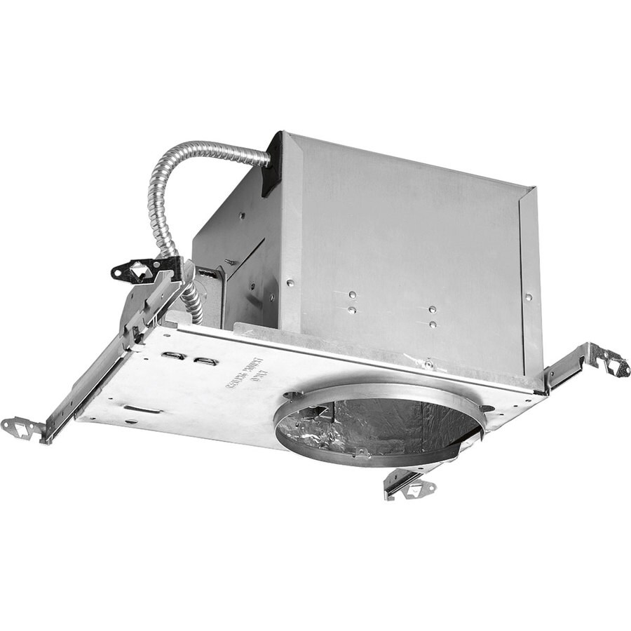 Progress Lighting New Construction Airtight IC Slope Recessed Light Housing (Common: 6-in; Actual: 6-in)