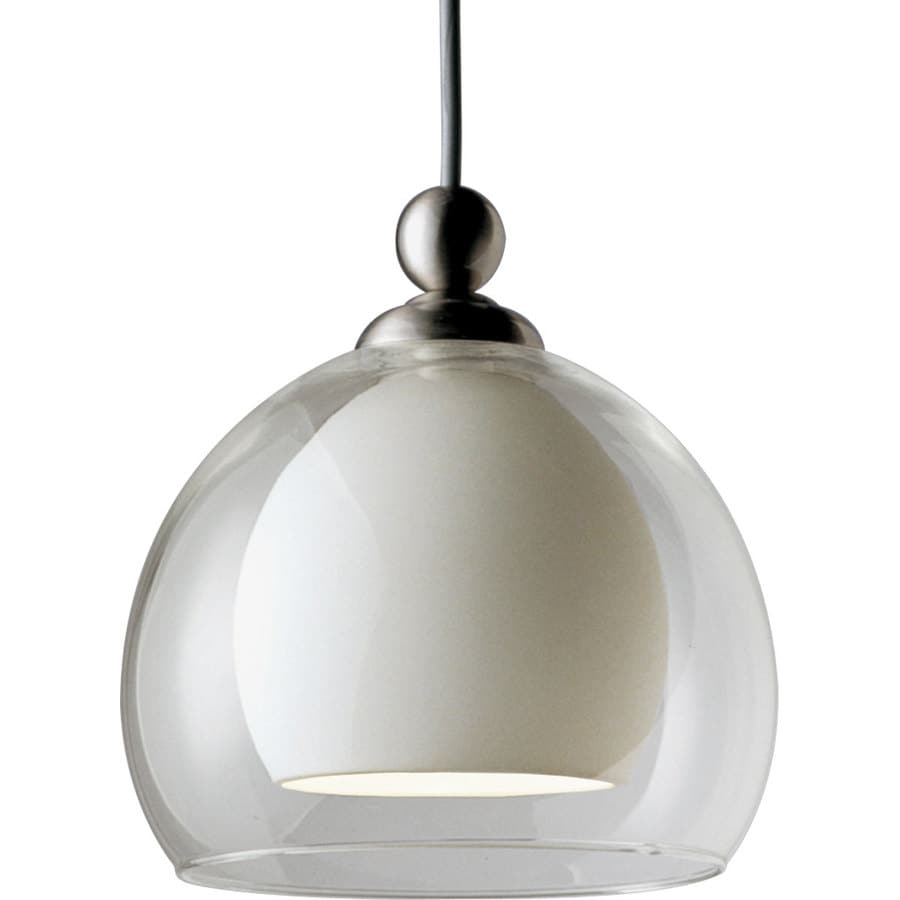 Shop Progress Lighting Illuma Flex 1 Light Brushed Nickel Sphere Flexible Tra