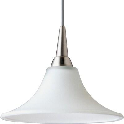 Progress Lighting Illuma Flex 1 Light Brushed Nickel Bell