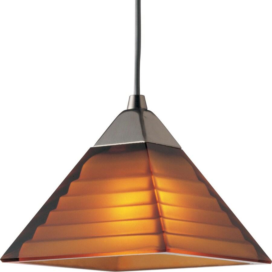 Progress Lighting Illuma-Flex 1-Light Brushed Nickel Bell Flexible Track Lighting Pendants