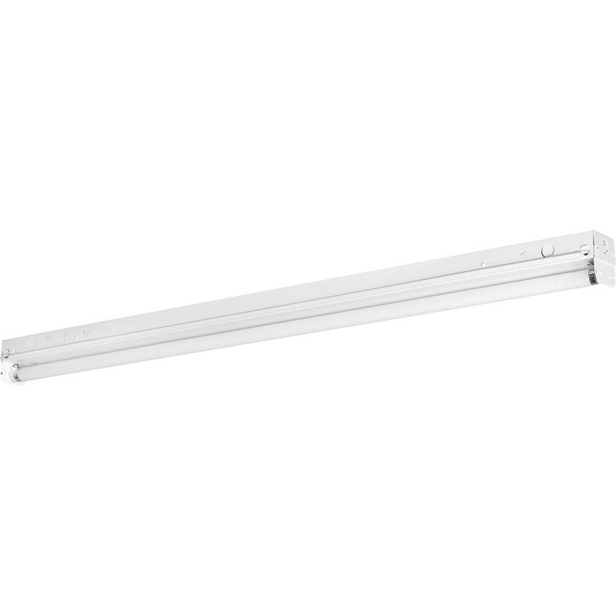 Progress Lighting Strip Shop Light (Common: 4-ft; Actual: 3.25-in x 48-in)