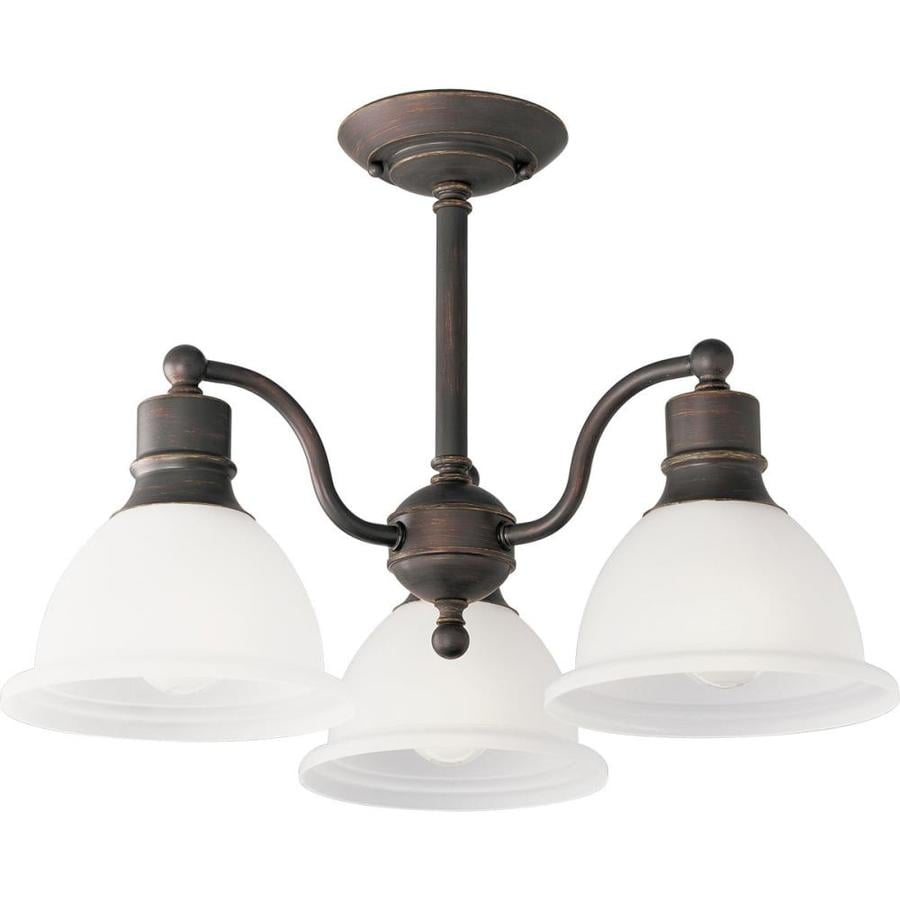 Shop Progress Lighting Madison 20 75 In W Antique Bronze