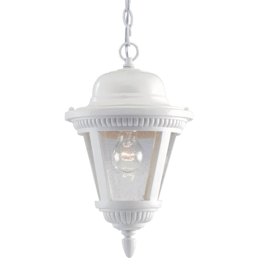 Progress Lighting Westport 14 87 In White Outdoor Pendant Light