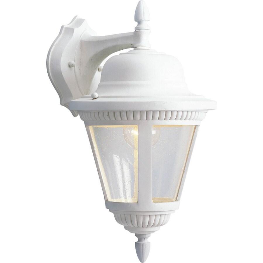 Progress Lighting Westport 16-in H White Outdoor Wall Light