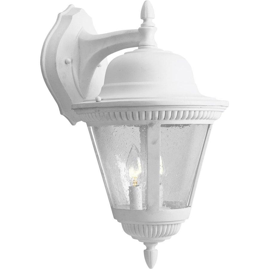 Progress Lighting Westport 18.75-in H White Outdoor Wall Light