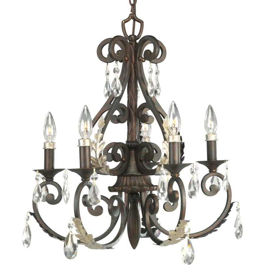 Thomasville Lighting Savona 5 Light Cognac Chandelier