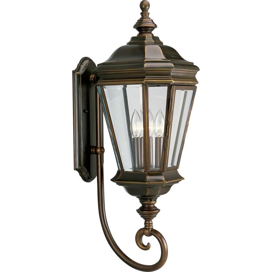 Progress Lighting Crawford 29-in H Oil Rubbed Bronze Outdoor Wall Light