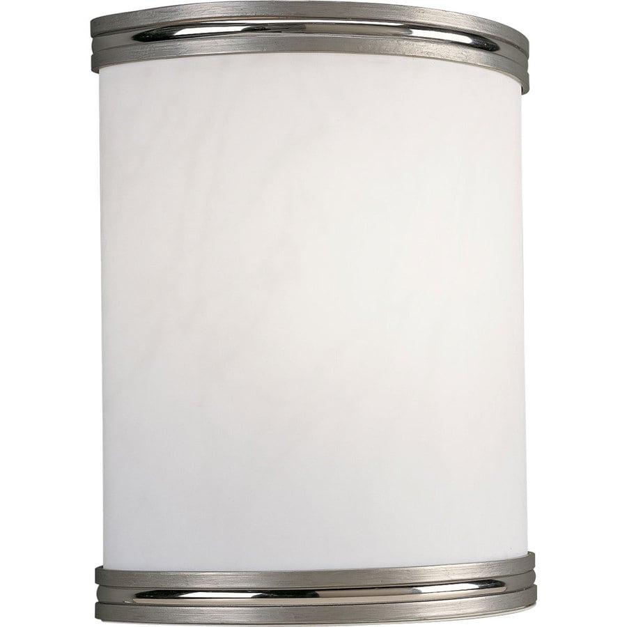 Progress Lighting 8.87-in W 1-Light Brushed Nickel Pocket Wall Sconce