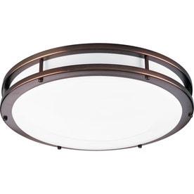 Kitchen Fluorescent Light Fixtures: Progress Lighting Modular Fluorescent White Acrylic Ceiling Fluorescent  Light ENERGY STAR (Common: 1.5-,Lighting