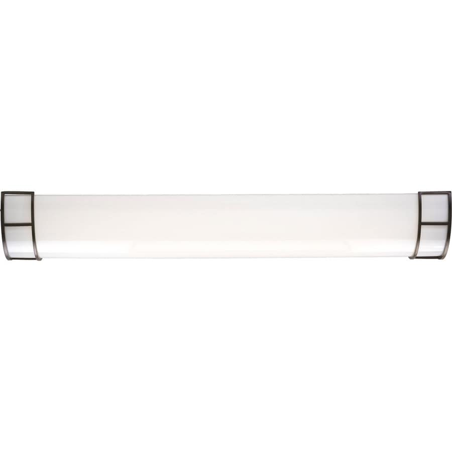 Progress Lighting Modular Fluorescent White Acrylic Ceiling Fluorescent Light ENERGY STAR (Common: 4-ft; Actual: 48.25-in)