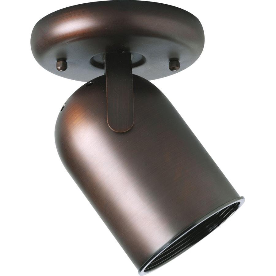 directional track lighting. progress lighting directional 1light 5in urban bronze flushmount fixed track s