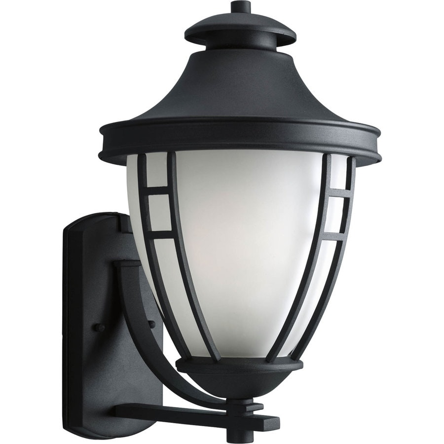 Progress Lighting Fairview 17-in H Textured Black Outdoor Wall Light