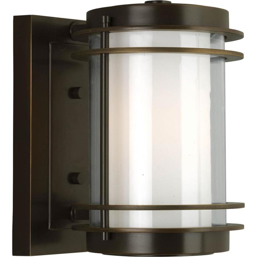 Progress Lighting Penfield 9.75-in H Oil Rubbed Bronze Outdoor Wall Light