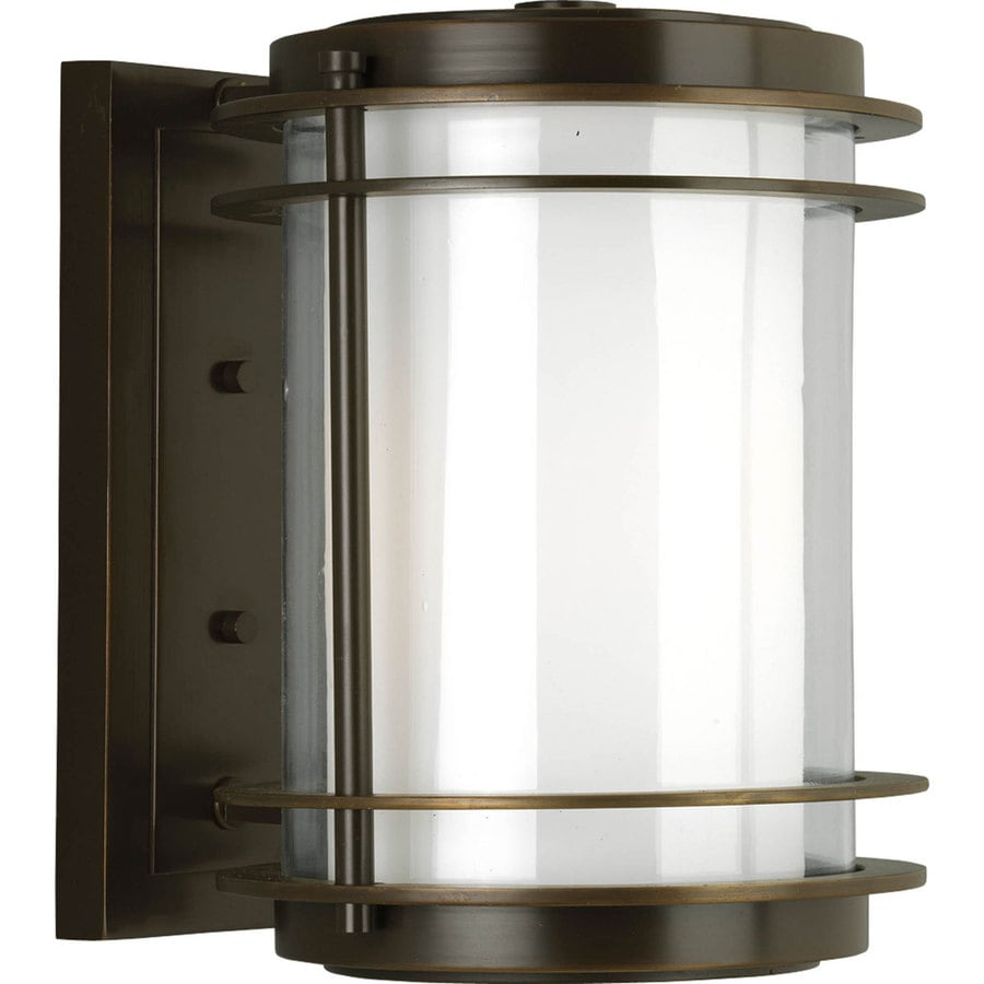 Progress Lighting Penfield 13.25-in H Oil Rubbed Bronze Outdoor Wall Light
