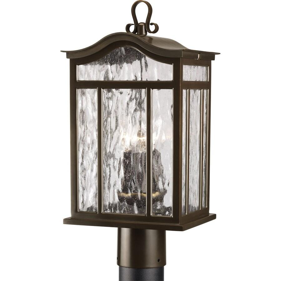Progress Lighting Meadowlark 14.5-in H Oil Rubbed Bronze Post Light