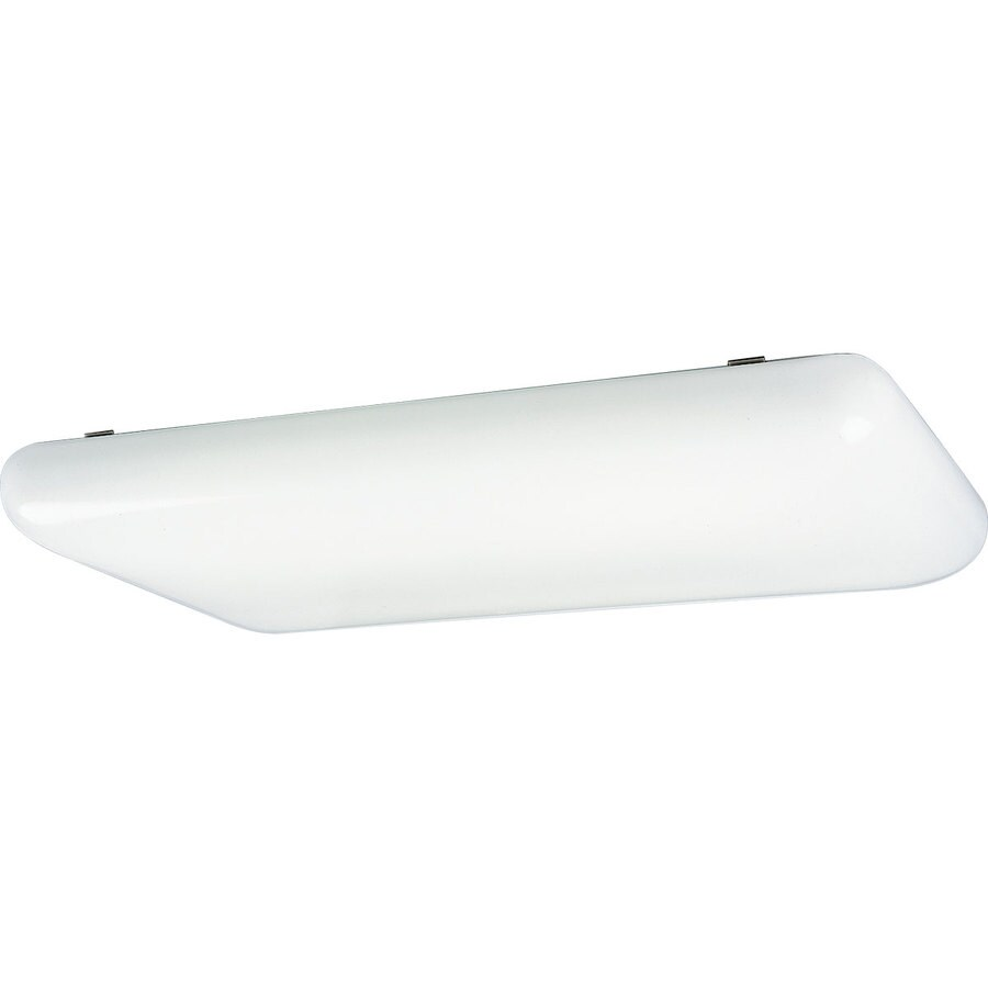 Progress Lighting Flush Mount Shop Light (Common: 4-ft; Actual: 18-in x 52-in)