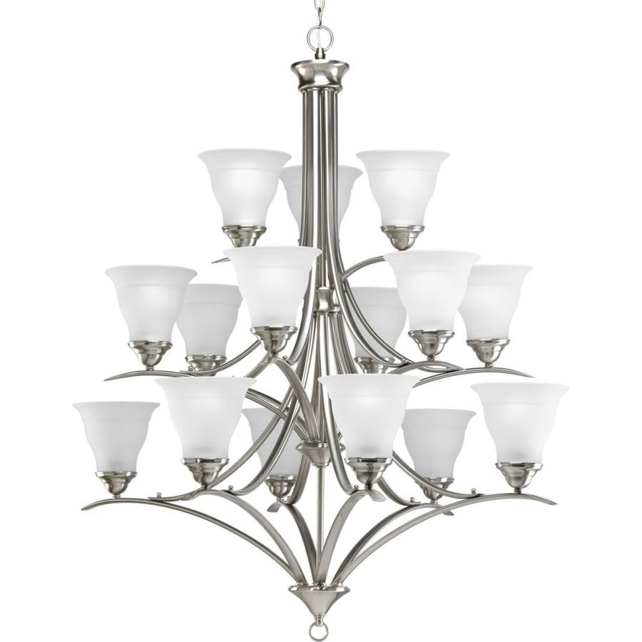 Shop Progress Lighting Trinity Collection Brushed Nickel at Lowescom