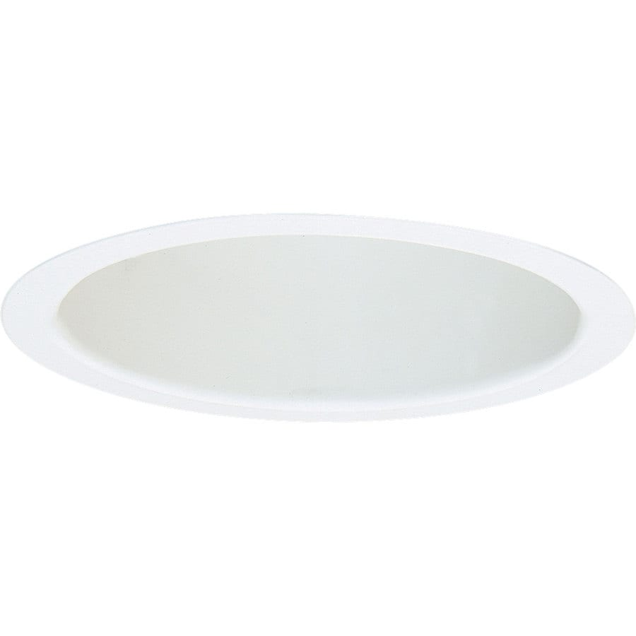 Progress Lighting White Open Recessed Light Trim (Fits Housing Diameter: 6-in)