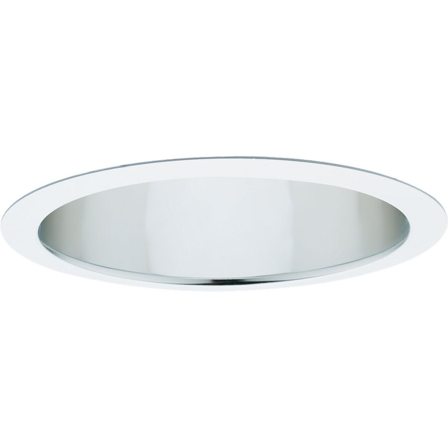 Progress Lighting Clear Alzak Open Recessed Light Trim (Fits Housing Diameter: 6-in)