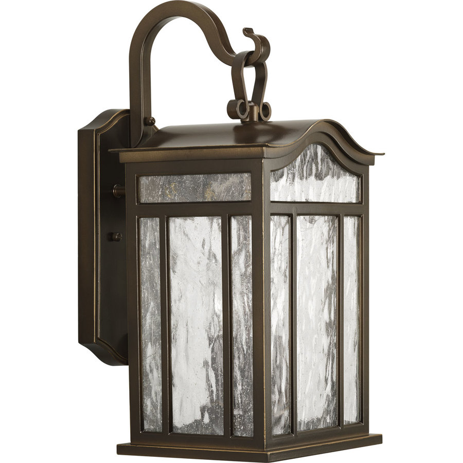 Progress Lighting Meadowlark 17.12-in H Oil Rubbed Bronze Outdoor Wall Light