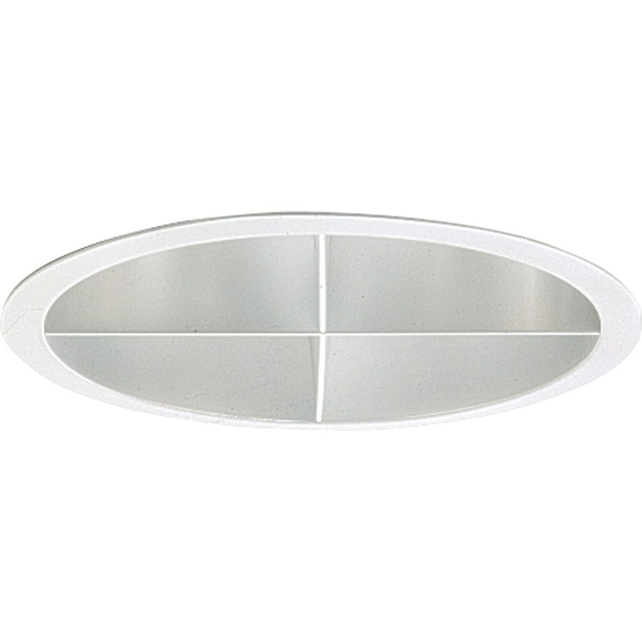 Progress Lighting Pro-Optic Clear Alzak Open Recessed Light Trim (Fits Housing Diameter: 8-in)