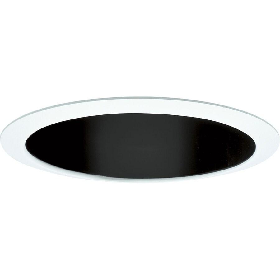 Progress Lighting Pro-Optic Black Baffle Recessed Light Trim (Fits Housing Diameter: 8-in)