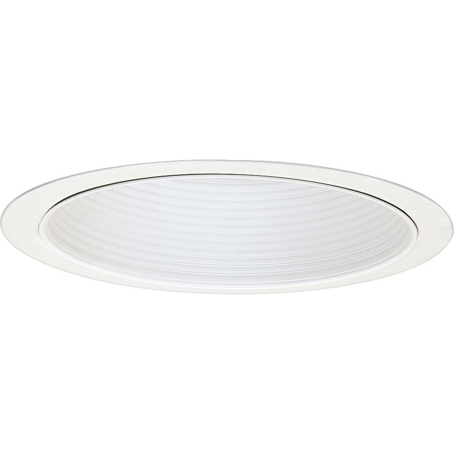Progress Lighting Pro-Optic White Baffle Recessed Light Trim (Fits Housing Diameter: 8-in)