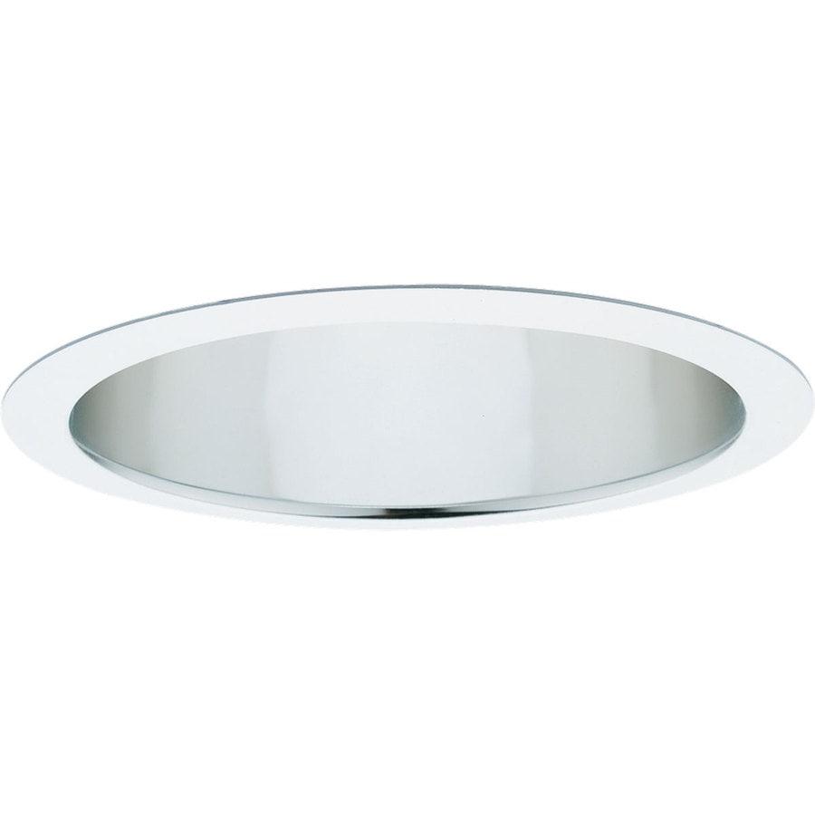 Progress Lighting Pro-Optic Clear Alzak Wall Wash Recessed Light Trim (Fits Housing Diameter: 8-in)