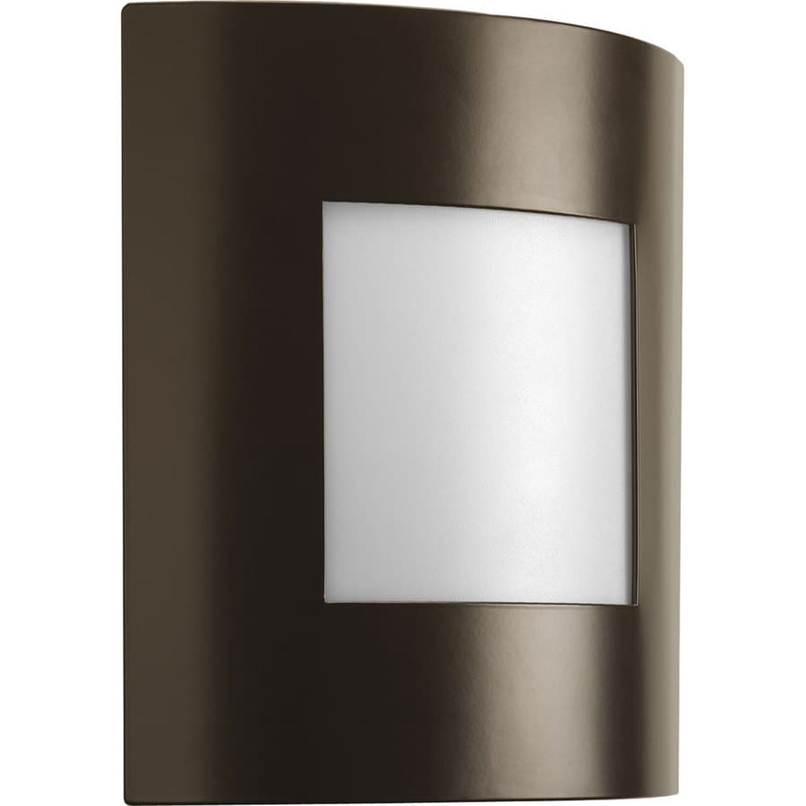 Progress Lighting Anson 10.25-in H Architectural Bronze Outdoor Wall Light