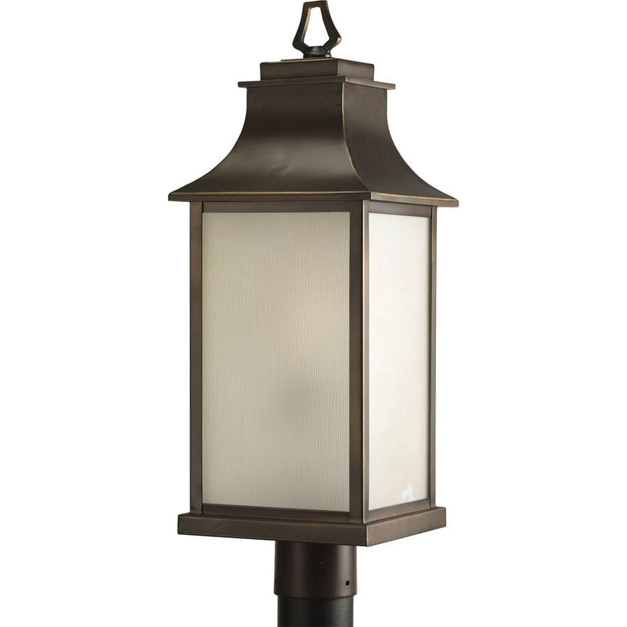 Progress Lighting Salute 23.12-in H Oil Rubbed Bronze Post Light