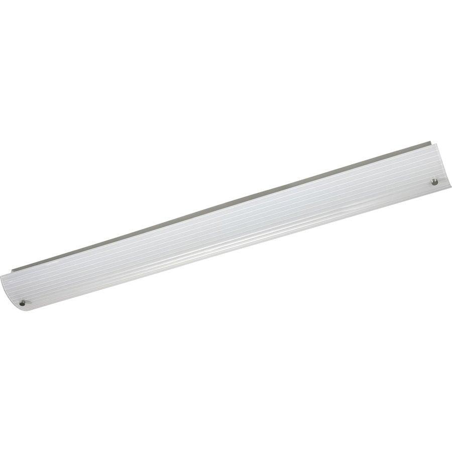 Progress Lighting 2-Light 6.25-in Brushed Nickel Rectangle Vanity Light