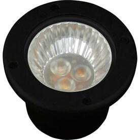 Progress Lighting 3-Watt Black Low Voltage Plug-In LED Well Light  sc 1 st  Loweu0027s & Shop Well Lights at Lowes.com