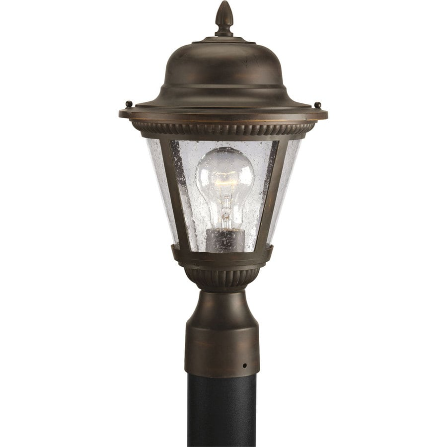 Progress Lighting Westport 16.37-in H Antique Bronze Post Light