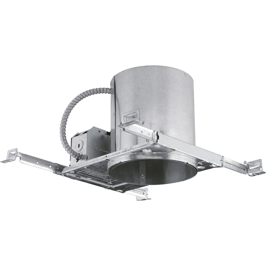Led recessed ceiling lights new construction : Progress lighting new construction airtight ic led