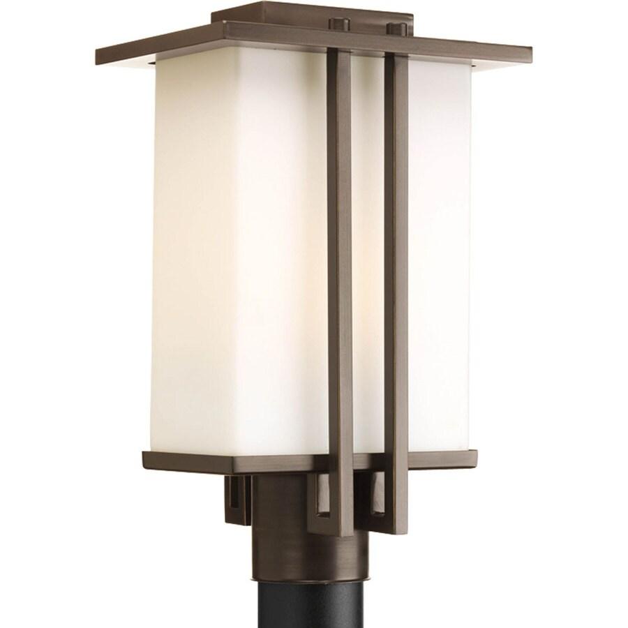 Progress Lighting Dibs 15.87-in H Antique Bronze Post Light