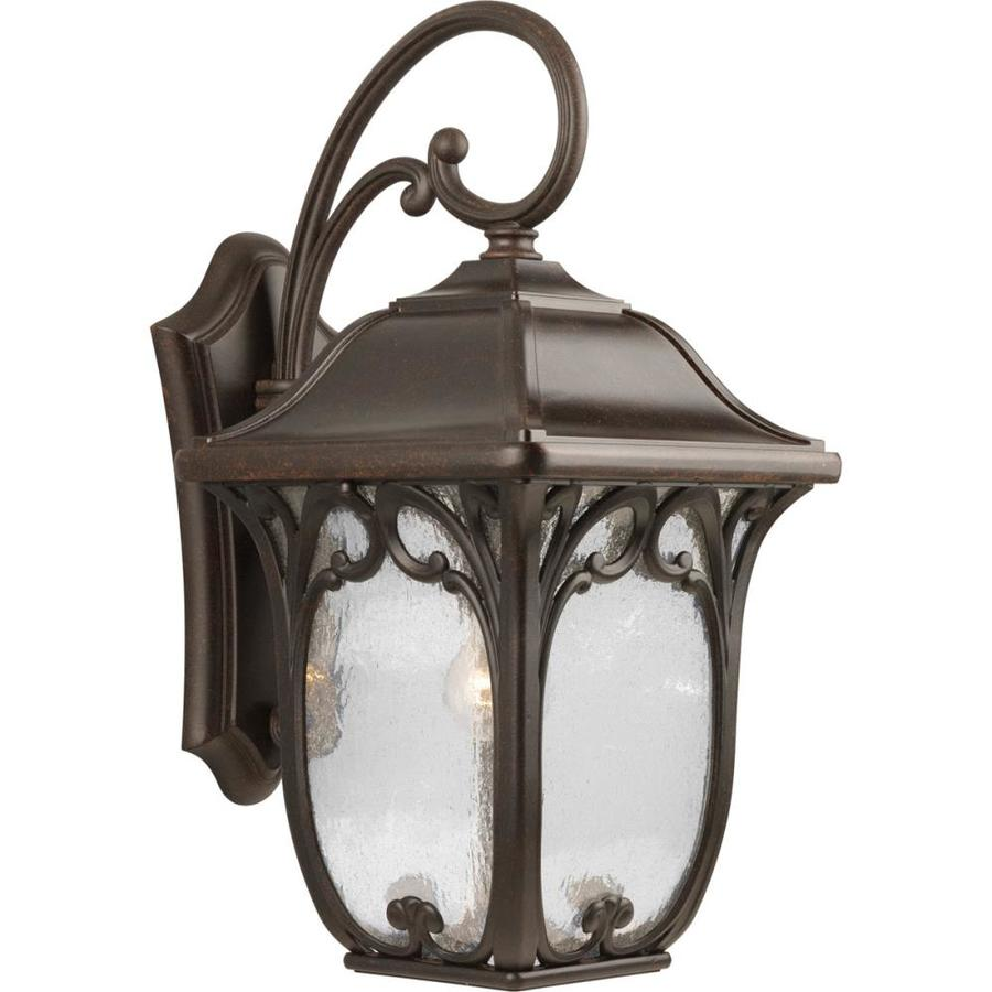 Progress Lighting Enchant 22.25-in H Espresso Outdoor Wall Light