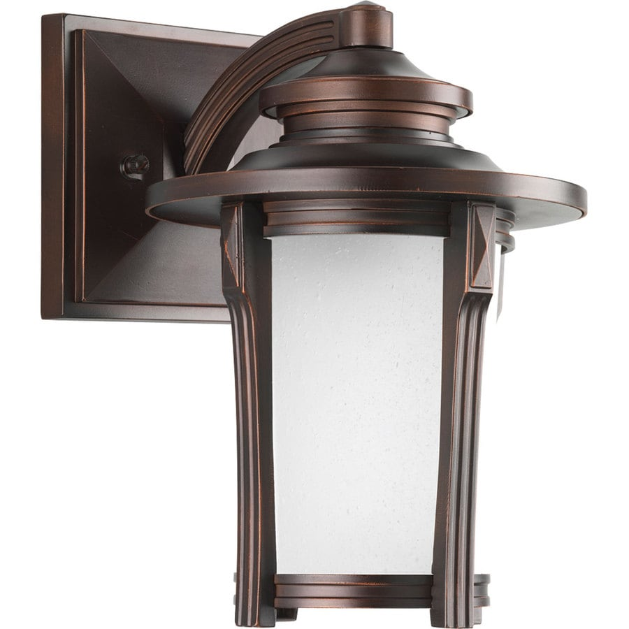 Progress Lighting Pedigree 10-in H Autumn Haze Outdoor Wall Light