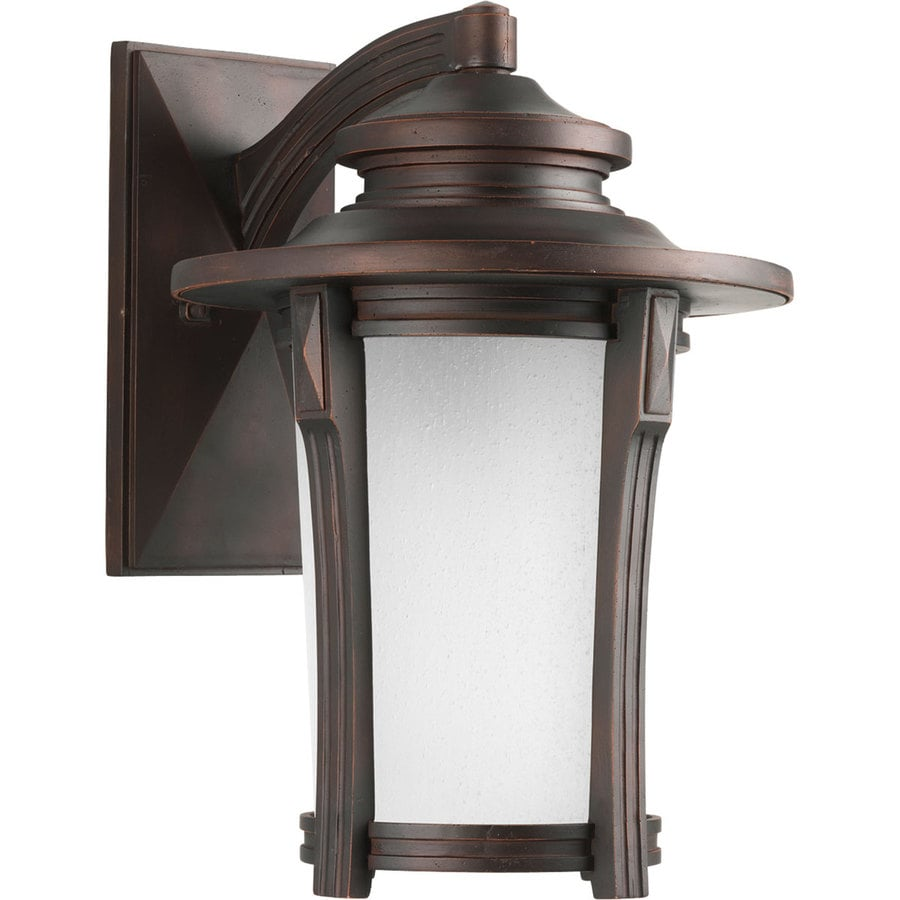 Progress Lighting Pedigree 16.5-in H Autumn Haze Outdoor Wall Light