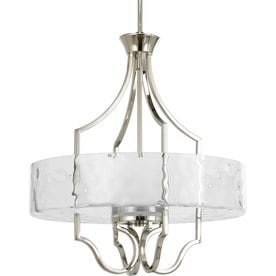 Caress Three-Light Inverted Pendant