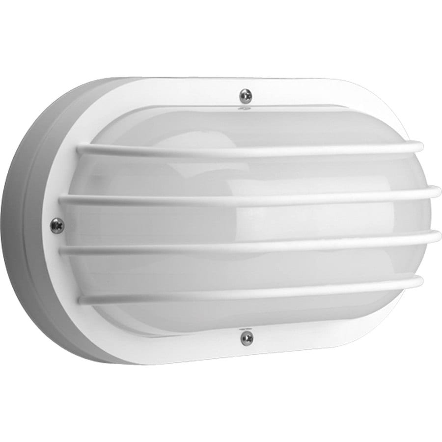Shop Progress Lighting Polycarbonate H White Outdoor Wall Light Energy Star At